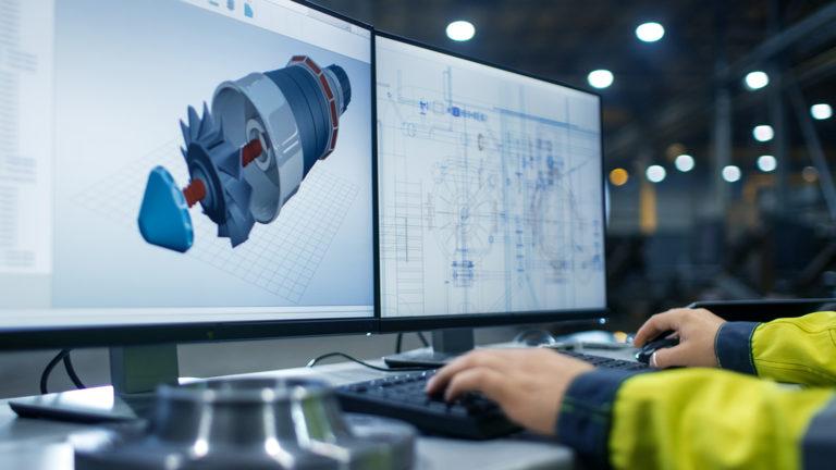 Computer screens showing how smart data can help ABB Turbocharging